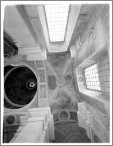 Łowicz. Bazylika katedralna Wniebowzięcia Najświętszej Maryi Panny i Św. Mikołaja. Sklepienie kaplicy Najświętszego Sakramentu - fragment