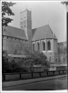Malbork. Zespół zamkowy. Zamek Wysoki. Kościół pw. Najświętszej Maryi Panny