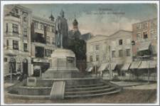 Graudenz. Markt und Kaiser Wilhelmdenkmal