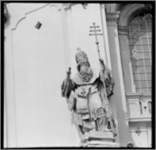 Lwów (Ukraina). Archikatedralny sobór św. Jura. Rzeźba