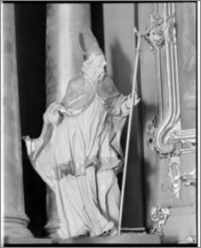 Włodawa. Kościół parafialny pw. Św. Ludwika. Wnętrze. Rzeźba