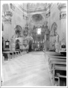 Włodawa. Kościół parafialny pw. Św. Ludwika. Wnętrze. Widok ogólny