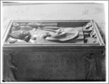 Włocławek. Bazylika katedralna Wniebowzięcia NMP. Wnętrze. Nagrobek bp Piotra z Bnina aut. Wita Stwosza