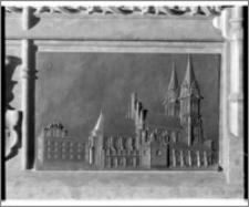 Włocławek. Bazylika katedralna Wniebowzięcia NMP. Wnętrze. Epitafium bp Aleksandra Bereśniewicza-fragment