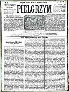 Pielgrzym, pismo religijne dla ludu 1878 nr 6