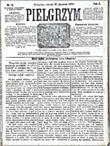 Pielgrzym, pismo religijne dla ludu 1878 nr 10