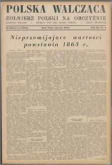 Polska Walcząca - Żołnierz Polski na Obczyźnie 1941.01.18, R. 3 nr 3
