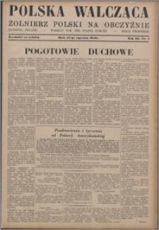 Polska Walcząca - Żołnierz Polski na Obczyźnie 1941.01.25, R. 3 nr 4