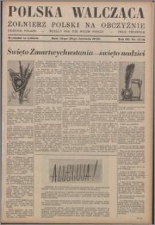Polska Walcząca - Żołnierz Polski na Obczyźnie 1941.04.12-1941.04.19, R. 3 nr 15-16