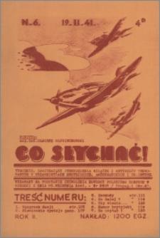 Co Słychać : tygodnik zawierający streszczenia książek i artykułów ... 1941, R. 2 nr 6