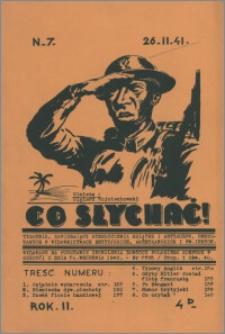 Co Słychać : tygodnik zawierający streszczenia książek i artykułów ... 1941, R. 2 nr 7