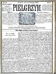Pielgrzym, pismo religijne dla ludu 1878 nr 23