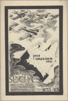 Co Słychać : tygodnik zawierający streszczenia książek i artykułów ... 1941, R. 2 nr 33