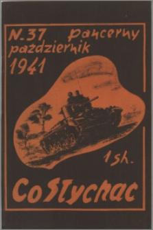 Co Słychać : tygodnik zawierający streszczenia książek i artykułów ... 1941, R. 2 nr 37