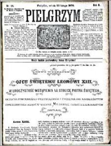 Pielgrzym, pismo religijne dla ludu 1878 nr 24