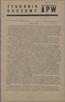 Tygodnik Obozowy APW 1946, R. 3 nr 1 (93)
