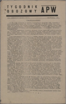 Tygodnik Obozowy APW 1946, R. 3 nr 4 (96)