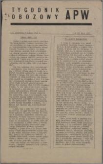 Tygodnik Obozowy APW 1946, R. 3 nr 5 (97)