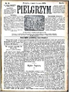 Pielgrzym, pismo religijne dla ludu 1878 nr 28