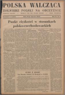 Polska Walcząca - Żołnierz Polski na Obczyźnie 1942.01.10, R. 4 nr 2
