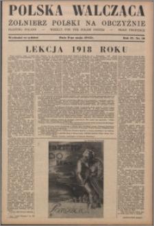 Polska Walcząca - Żołnierz Polski na Obczyźnie 1942.05.09, R. 4 nr 19
