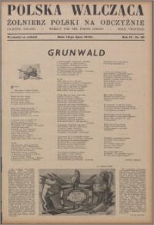 Polska Walcząca - Żołnierz Polski na Obczyźnie 1942.07.18, R. 4 nr 29