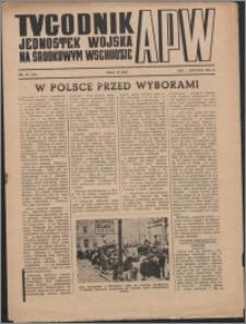 Tygodnik Jednostek Wojska na Środkowym Wschodzie 1946, R. 3 nr 42 (134)
