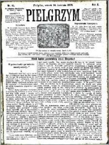 Pielgrzym, pismo religijne dla ludu 1878 nr 45
