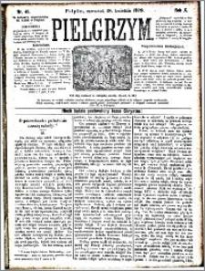 Pielgrzym, pismo religijne dla ludu 1878 nr 46
