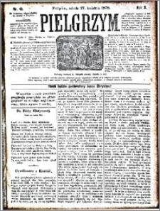 Pielgrzym, pismo religijne dla ludu 1878 nr 49
