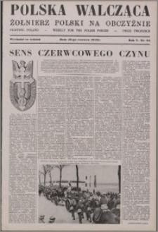 Polska Walcząca - Żołnierz Polski na Obczyźnie 1943.06.19, R. 5 nr 24