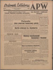 Dziennik Żołnierza APW : polska prasa obozowa 1943.09.26, R. 1 nr 14