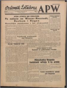 Dziennik Żołnierza APW : polska prasa obozowa 1943.10.03, R. 1 nr 18