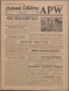Dziennik Żołnierza APW : polska prasa obozowa 1943.11.21, R. 1 nr 58
