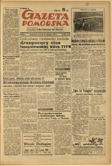 Gazeta Pomorska, 1949.08.23, R.2, nr 231