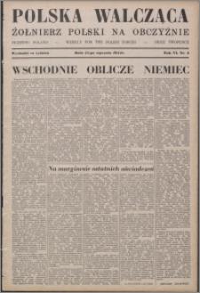 Polska Walcząca - Żołnierz Polski na Obczyźnie 1944.01.15, R. 6 nr 2
