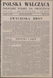 Polska Walcząca - Żołnierz Polski na Obczyźnie 1944.08.12, R. 6 nr 32