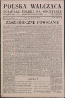 Polska Walcząca - Żołnierz Polski na Obczyźnie 1945.11.24, R. 7 nr 46
