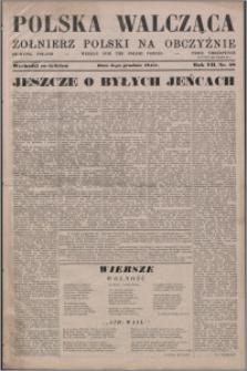 Polska Walcząca - Żołnierz Polski na Obczyźnie 1945.12.08, R. 7 nr 48
