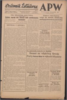 Dziennik Żołnierza APW Wydanie polowe B 1944.10.07, R. 2 nr 173