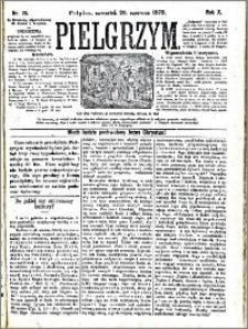 Pielgrzym, pismo religijne dla ludu 1878 nr 70