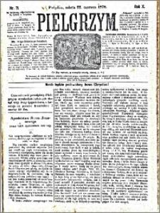 Pielgrzym, pismo religijne dla ludu 1878 nr 71