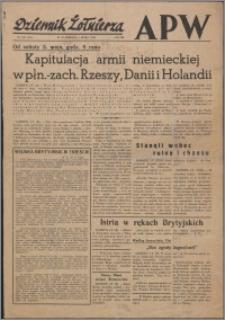 Dziennik Żołnierza APW Wydanie polowe B 1945.05.05, R. 3 nr 106