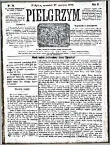 Pielgrzym, pismo religijne dla ludu 1878 nr 73