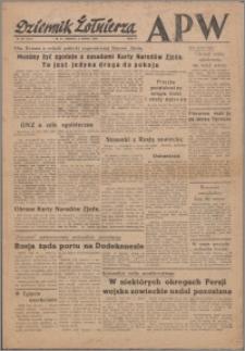 Dziennik Żołnierza APW Wydanie polowe B 1946.03.02, R. 4 nr 53