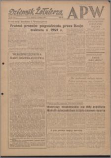 Dziennik Żołnierza APW Wydanie polowe B 1946.03.09, R. 4 nr 59