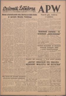 Dziennik Żołnierza APW Wydanie polowe B 1946.03.21, R. 4 nr 69