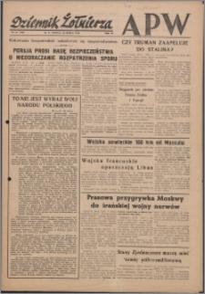 Dziennik Żołnierza APW Wydanie polowe B 1946.03.23, R. 4 nr 71