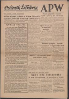 Dziennik Żołnierza APW Wydanie polowe B 1946.03.24, R. 4 nr 72