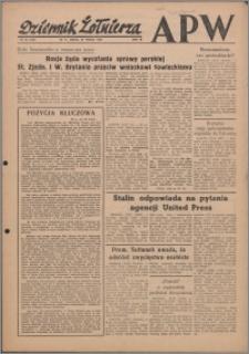 Dziennik Żołnierza APW Wydanie polowe B 1946.03.27, R. 4 nr 74